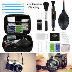 Camera Cleaning Kit Suit LENS PEN Dust Cleaner Brush Air Blower Wipes Clean Cloth kit for Gopro Canon Nikon DSLR DVR PEN 201021