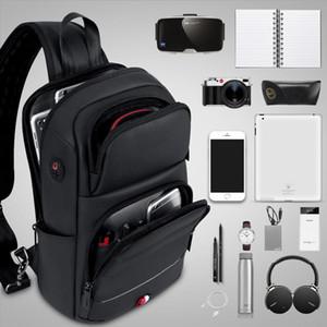 Сумки для скрещивания для моды для моды сумки на плечо USB зарядки посыльный мешок мешок сундук сумок Оксфорд одно плечо ремешок 2021