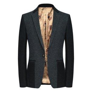 2021 laine pour Fine Fashions Spring Casual Homme Blazer Suit Shierxi Business Coat 6Skn