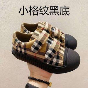 Baby-Designer-Turnschuh 2020 neue Marke Buchstaben gedruckte kurze Mode-Art-Kinder beiläufiger flacher Luxus Outdoor Schuhe