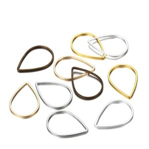 30pcs lot Teardrop Waterdrop Mix Color Jump Ring Diy For Jewelry Making Finding Accessories Supplies Earring Necklace Co bbysMp