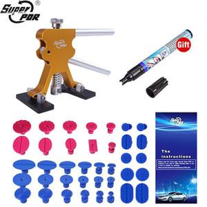 Super PDR Tool Kit pour voiture Dent Puller ventouse colle onglets d'outils à main Set Paintless Removal Dent Kit Lifter Set Auto