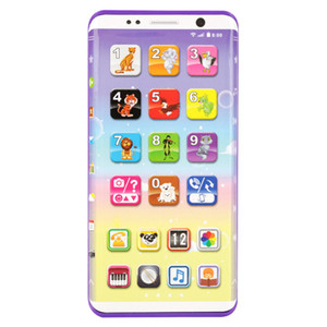 Kids Smart Phone Toys Educational Multifunctional Smart Phone Toy With USB Port Touch Screen Educational Toys For Children LJ201105