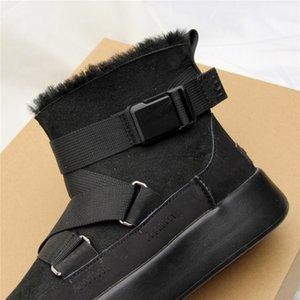 Women Snow Snow Boots Warm Short Fur Plush Winter Ankle Snow Boots Plus Size Ladies Shoes Female Zip Comfort Warm Shoes Footwear Ptrf##83832