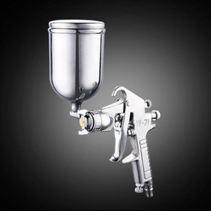 W-71 HVLP Mini tinta spray Gun Air Gravity Feed inteligente Reparação Touch Up 400ml