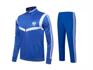 20-21 Israel Football Club Adult Kids Soccer Training tracksuits children team sportswear Men's Jacket long sleeve football set