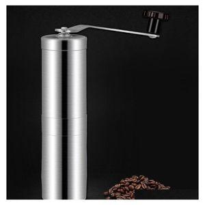 Taşınabilir Kahve Öğütücü Paslanmaz Çelik Mini Manuel El Yapımı Kahve Beşik Değirmen Mutfak Aracı Çiğdem Gr Jlllsu JJXH