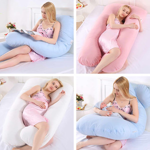 Pregnant Sleeping Support Pillow For Women Body Cotton Pillowcase U Shape Maternity Pillows Pregnancy Side Sleepers Bedding C1002