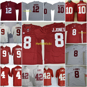 Alabama Crimson Tide Derrick Henry Jersey TJ. Yeldon Julio Jones Amari Cooper AJ McCarron Joe Namath Mark Ingram Eddie Lacy Alabama Jersey