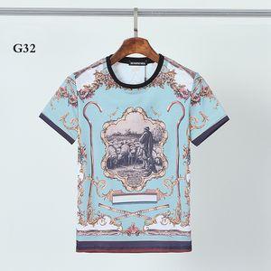 DSQ PHANTOM TURTLE 2021SS New Mens Designer T shirt Paris fashion Tshirts Summer Pattern T-shirt Male Top Quality 100% Cotton Top 1222