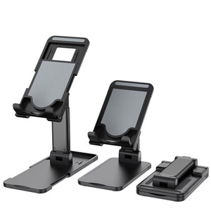 Universal Adjustable Phone Holder Stand for IPhone 12 Pro Max Samsung Note 20 Ultra IPad Tablet Foldable Metal Holder Desk Stand
