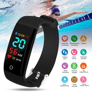 2020 Smart Bracelet Men Women Blood Pressure Measurement Smart Wristband Waterproof Heart Rate Fitness Tracker Smart Band Watch