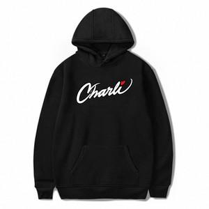 2020 NEW Merch Charli D'Amelio Charli Script Hoodies Sweatshirts für Männer und Frauen Internet Berühmtheit Pullover Unisex Anzug Y20051 u1rY #