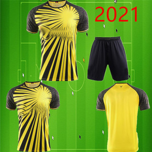 Yetişkin 20 21 Kelme Watford F.C. Ev sarı futbol forması 2020 2021 Watford F.C. erkek şort Futbol gömlek Özel satış