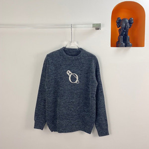 20FW Herbst-Winter-Europa Frankreich Paris Pin-Stickerei-Qualitäts-Pullover Art und Weise beiläufige Männer Frauen Wollpullover Street