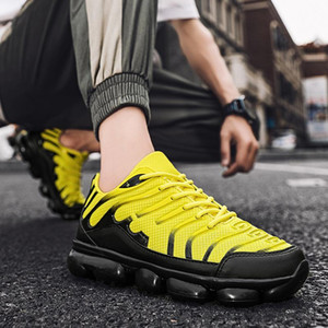Breathable Licht Freizeitschuhe für Mann Sportschuhe Männer Turnschuhe Schuhe Corrientes De Verano Red Chaussure Homme De Marque mit Logo