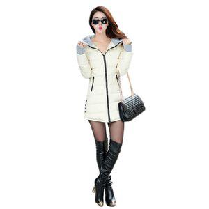 Winter Coat Women New Autumn Korean Fashion Slim Long Hooded Parkas Red Black 11 Colors M-4XL Plus Size Green Jackets CX946 201015