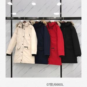 canada 90% Goose 5a Top melhor qualidade canadian Designer Womens Inverno Down Jacket Red Blakc Canadá Parka Edição encapuçados das senhoras Coats Winterjacke Jackets