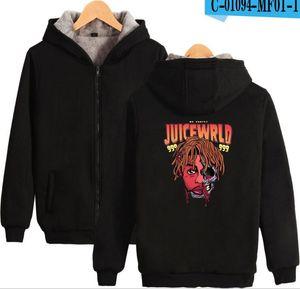New product fashion juice wrld Digital Printed Zipper Hoodies Men's and Women's Cotton Jacket