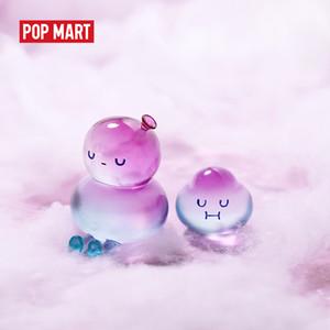 Pop Mart Bobo ve Coco Temel Serisi Pop Arttoys Figure Eylem Kör Kutusu Kawaii Oyuncak Tatlı Sevimli Hediye Çocuk Oyuncak 201202
