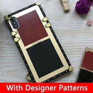 Cajas para teléfono de diseño de lujo para iPhone 11 12 Pro max xr 7 8plus x xs max 12 mini Fashion Samsung Funda para Samsung S10 S20 S20u Note 8 9 10p
