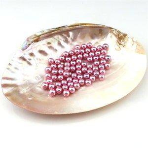 50pcs 8mm redondas pérolas de imitação Beads DIY handmade arco-íris nenhum buraco Beads para Brincos Colar Jóias Fazendo jllIDg home003