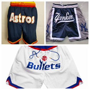 Shorts Baseball Kurzer nur Don Pocket Hose Houston