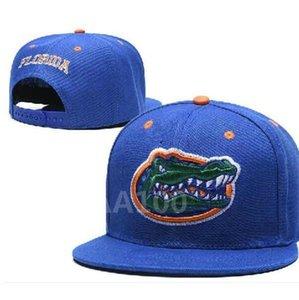 NCAA Florida Gators Snapback Caps chapéu Duke Alabama Crimson Devils Miami Hurricanes Cap Seminole Estado da Flórida um tamanho serve para todos a22