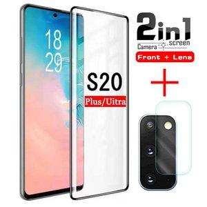 S20 Ultra-Schutzglas auf der für Samsung Galaxy S 20 Plus Screen Protector S20ULTRA S20plus Tempered GLAS Protection Film