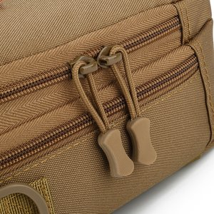 Men outdoor chest bag 2020 new casual sports Durable canvas small square bag tactical riding bag shoulder messenger male