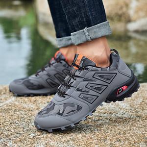 Sneakers de randonnée à chaussures de semences de randonnée légère montagne de jogging extérieur pour hommes Trekking chaussures LJ201123