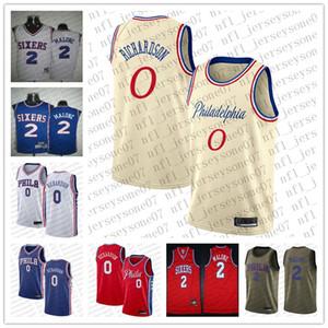Мужские женские молодежи Филадельфия76.эры0 Джош Ричардсон 2 Моисей Malone Camo Баскетбол Красный свингман Realtree Коллекция Джерси