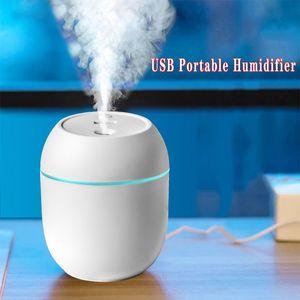 3 couleurs Humidificateur Accueil Petite USB Vaporiser instrument eau reconstitution voiture à grande capacité Chambre Aroma Diffuseur cadeau
