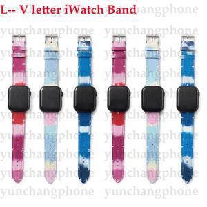 L Письмо для Band Apple Band для ремешка для часов Apple Rate 38 мм 40 мм 42 мм 44 мм Дизайн-ремни для Iwatch 6 5 4 3 2