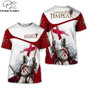 PLSTAR COSMOS по всему напечатанным рыцарям Templar 3D T футболки футболки Thets Tees летняя осень забавных Harajuku с коротким рукавом Улица-18