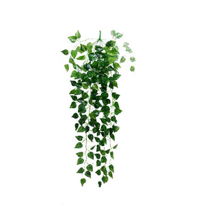 Artificial Fake Hanging Vine Plant Leaves Garland Home Garden Wall Decoration Artificial Rattan Christmas For Garden Decoration yxlLHw