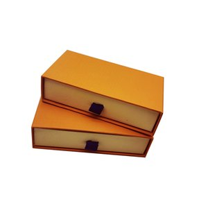 Jewelry Boxes Packaging With Dust Bag 13.5*7*3.5 Drawer Box Designer Display Accessories Gift Box