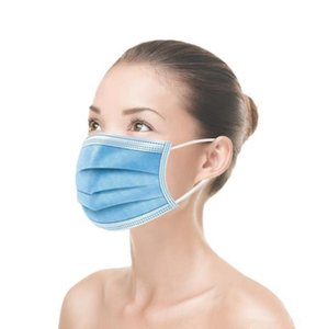Libero Inquinamento 500pcs maschere per adulti traspirante 3 strati elastici DHL Saliva Air Orecchini monouso Proof confortevole antipolveri Xjcop
