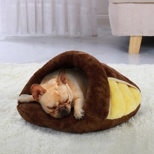Warm Cat Bed Pet Puppy Cat House Winter Dog Cat Cushion Mat Indoor Basket Cave Kennel Nest Cats Products For P jllOTh