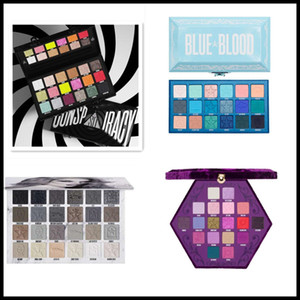 Epack Blue Blood 18colors Creamation 24 ألوان J X M M MP Lust Blood Lust Blood Eyeshadow لوحة فنون مؤامرة ظلال لوحة