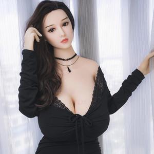 Новый 170 см кукла мужского пола, большая грудь, большая грудь, реальность, женщина влагалища, полная игрушка силикона, японская мастурбации