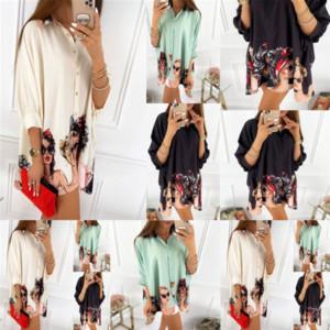 4M3 Q688 new fashion designer positioning printing long sleeve for women Q688 new fashion positioning printing long sleeve shirt shirt