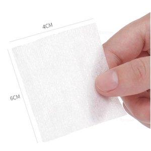 600 pcs Nail Art wipes macio algodão limpando papel gel polonês removedor guardanapa pestana absorvente absorver a colagem soak limpeza limpador diy quilnom