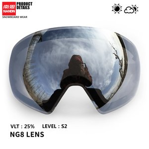 NANDN Ski lens double layer anti fog and anti UV400 suitable for NG8 Q0107