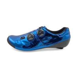 Hyper City Cycling C3 Shinyblue Road Shoe Shoe Cycling Shoe Carbon Road Carbon Professional Lake Bont Verducci