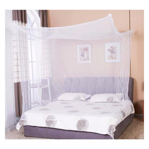 Moustiquaire 1pc Canopy White Four Corner Post Student Canopy Bed Mosquito Net Netting Qu jlldKe Fight2010