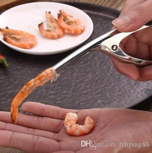 Stainless Steel Shrimp Peeler Prawn Peeler Shrimp Deveiner Peel Device Fishing Knife Seafood Tool Kitchen Gadget Accessories