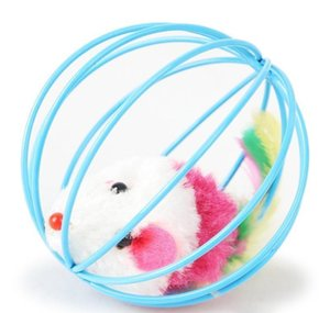 With Scratching Metal Cage Cat Pets Inside Ball Mouse Supplies Plush Pet Fur Toy Lbfiz bbykJYQ yh_pack