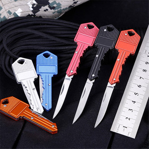 Extérieur Mini utilitaire papier Couteau de poche Clé portable en bois Cutter ouvre-lettre école de fournitures de bureau Papeterie Porte-cadeau