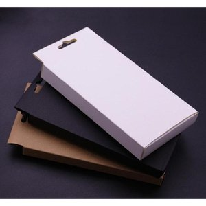300pcs Universal Mobile Phone Case Package Paper Kraft Brown Retail Packaging Box For Iphone 7sp 6sp 8sp Sam sqcTNg ppshop01